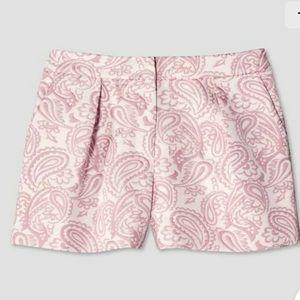 Victoria Beckham Target Women Jacquard Shorts Pink